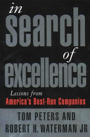 9780006384021: In search of excellence. Lessons from America's best-run companies