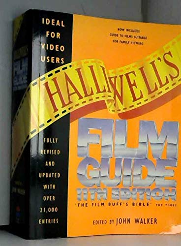 9780006384601: Halliwell's Film Guide 11th Edition