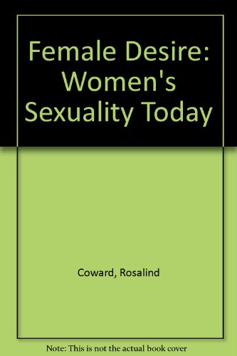 9780006386759: Female Desire: Women's Sexuality Today