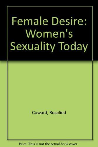 9780006386759: Female Desire: Women's Sexuality Today