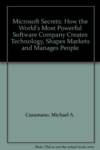 9780006387855: Microsoft Secrets: How the World's Most Powerful Software Company Creates Technology, Shapes Markets and Manages People