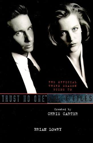9780006388364: Trust No One: The Official Third Season Guide to the X Files