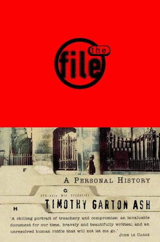9780006388470: The File: A Personal History