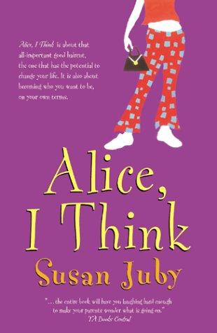 9780006392873: Alice, I Think