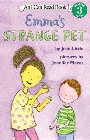 9780006393603: By Little, Jean [ Emma's Strange Pet (I Can Read! - Level 3) ] [ EMMA'S STRANGE PET (I CAN READ! - LEVEL 3) ] Oct - 2004 { Paperback }