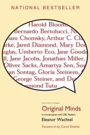 9780006394198: Original Minds (Conversations with CBC Radio's Eleanor Wachtel)