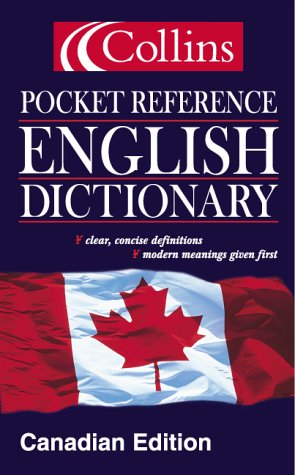 9780006394266: Collins Pocket Reference English Dictionary : Canadian Edition