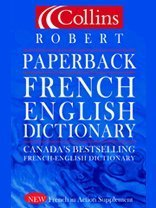 9780006394273: Collins Robert Paperback French Dictionary
