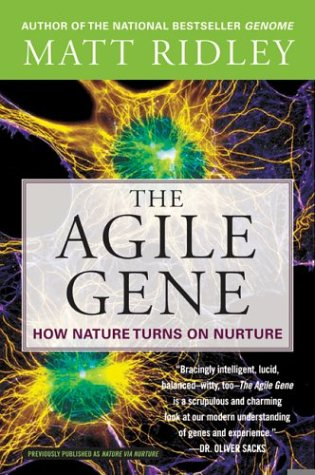 9780006394488: The Agile Gene: How Nature Turns on Nurture
