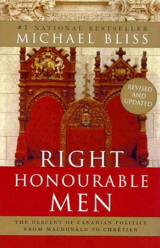 9780006394846: Right Honourable Men