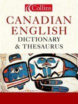 9780006395881: Collins Canadian English Dictionary and Thesaurus