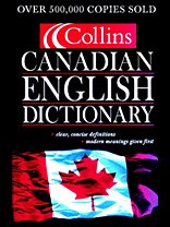 9780006395911: Collins Canadian English Dictionary