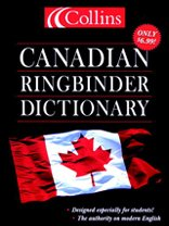 9780006395928: Collins Canadian English Ringbinder Dictionary