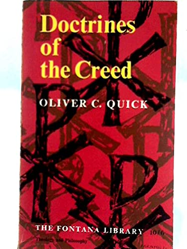 9780006408765: Doctrines Of The Creed - Their Basis In Scripture and Their Meaning Today