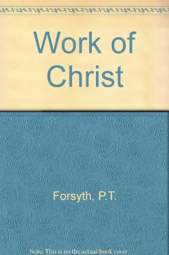 9780006410959: Work of Christ