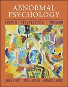 Abnormal Psychology: Current Perspective: Lauren B. Alloy