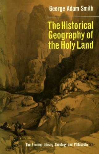 9780006413257: The Historical Geography of the Holy Land