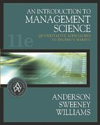 9780006420705: An Introduction to Management Science : Quantitative Approaches to Decision Making- Text Only