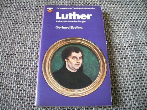 9780006428435: Luther