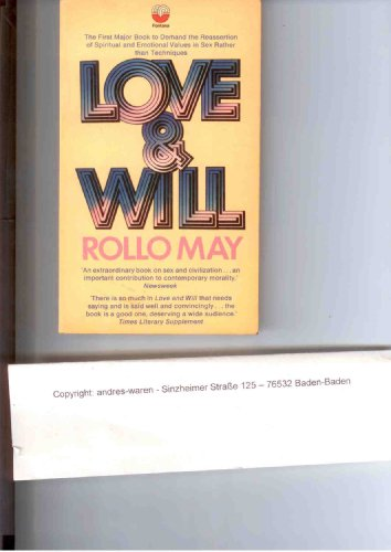 9780006428459: Love and Will