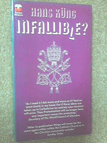 9780006429883: Infallible?
