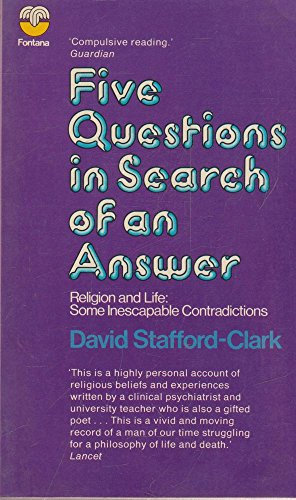 9780006430674: Five Questions in Search of an Answer (The Fontana library of theology and philosophy)