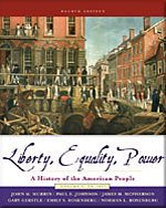 9780006437888: Liberty, Equality, Power: A History of the American People, Volume 1: to 1877- Text Only
