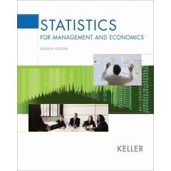 9780006445777: Statistics for Management and Economics- Text Only
