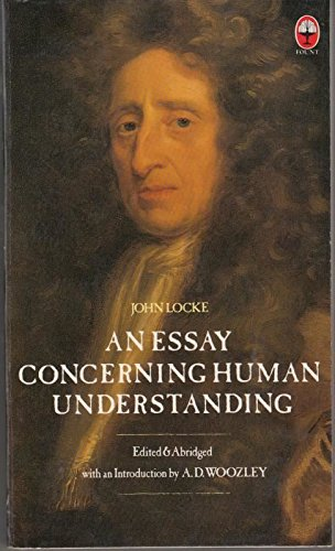 publisher of an essay concerning human understanding