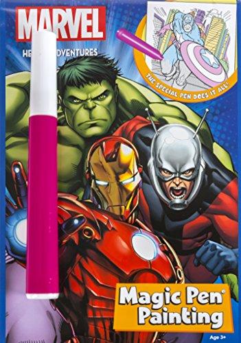 Magic Pen Painting (Marvel Super Heroes)