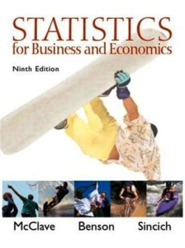9780006467298: Statistics For Business&Economics (9th Edition) - Text Only