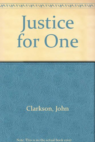 9780006472780: Justice for One
