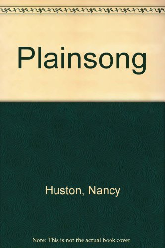 9780006479376: Plainsong