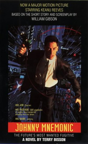 9780006480464: Johnny Mnemonic: Film Novelization