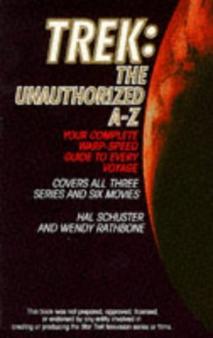 9780006482901: Trek: The Unauthorized A-Z (Star Trek)