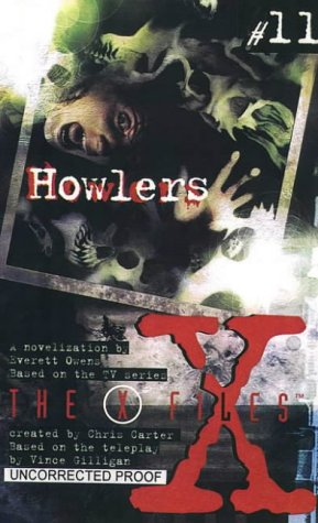 """9780006483502: X-Files (11) - Howlers: Howlers No. 11 (""""The X-Files"""")"""