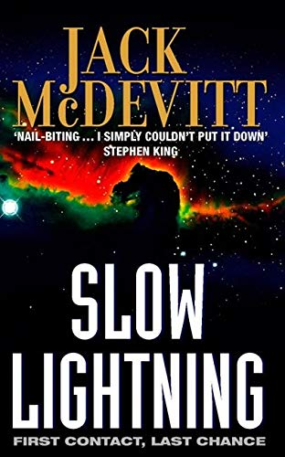 Slow Lightning 9780006483960 Classic sense-of-wonder sf from the author of THE ENGINES OF GOD.We are alone in the universe.We have faster-than-light travel. We've been looking for over 1,000 years, and there is simply nothing out there.The universe is a magnificent, but sterile, wilderness - and it all belongs to us. Maybe we're lucky.That's the received wisdom, anyway.A new expedition, investigating a mysteriously aborted mission 27 years earlier, is about to turn that wisdom on its head.