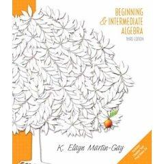 9780006484523: Beginning & Intermediate Algebra- Text Only