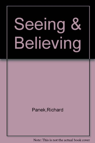 9780006485179: Seeing and Believing