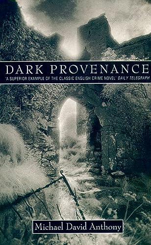 9780006490074: DARK PROVENANCE