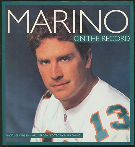 9780006490692: Marino: On the Record