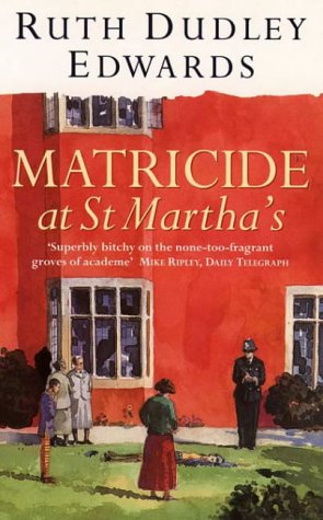 9780006493280: Matricide at St. Martha's (Thorndike Large Print General Series)