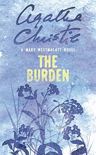 9780006499503: The Burden