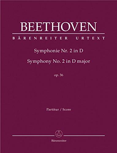 9780006500070: Symphony No. 2 in D Major: Baerenreiter Full Score