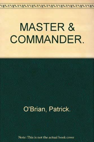 9780006514749: MASTER & COMMANDER.