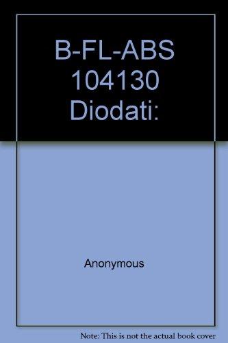 9780006522508: B-FL-ABS 104130 Diodati: