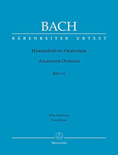 9780006522515: Ascension Oratorio, BWV 11: Vocal score