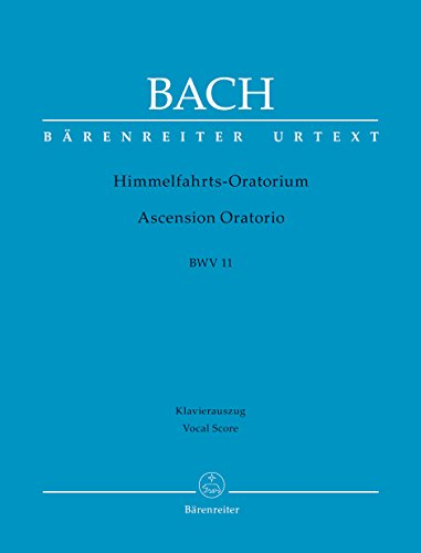 9780006522515: Ascension Oratorio, BWV 11: Vocal score
