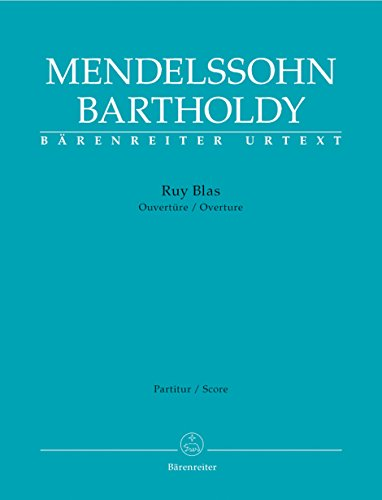 9780006522904: Ruy Blas -Ouvertüre- (Fassung 1 und 2). Partitur, Urtextausgabe