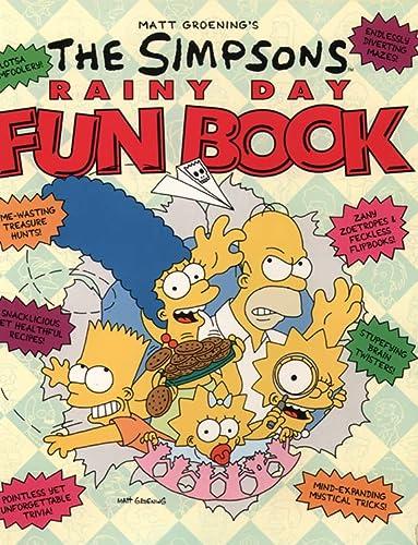 The Simpsons Rainy Day Fun Book: Groening, Matt